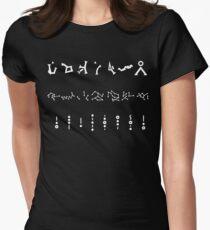 Stargate Address - SG1 Atlantis Universe Women's Fitted T-Shirt