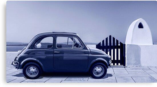 Italian car Fiat 500 by Srdjan Petrovic