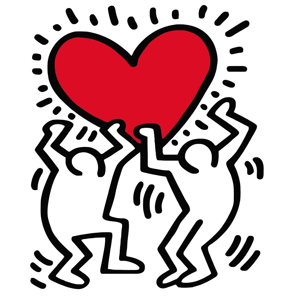 Image result for keith haring heart