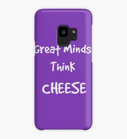 Think Cheese, Say Cheese ... Case/Skin for Samsung Galaxy