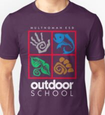 Outdoor School Logo (fcw) T-Shirt