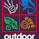 Outdoor School Logo (fcw) by Multnomah ESD Outdoor School