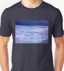 The lonely skier of Parnassus mountain T-Shirt