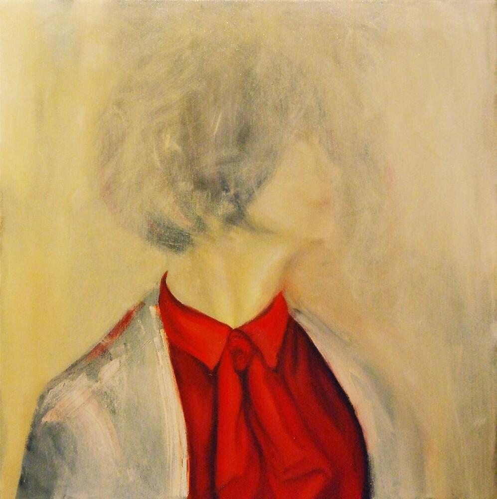 Underneath, 2013, 50-50cm, oil on canvas by oanaunciuleanu