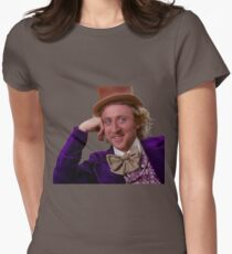 Condescending Wonka Womens Fitted T-Shirt