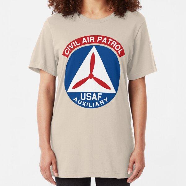 Civil Air Patrol Emblem Slim Fit T-Shirt