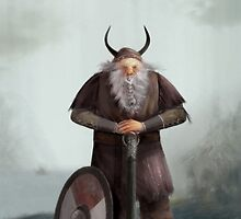 Old Viking by Alexander Skachkov