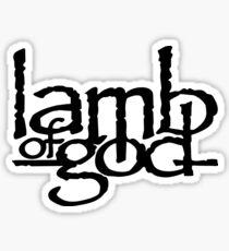 METAL-LAMB OF GOD Sticker