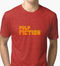 Pulp fiction title Tri-blend T-Shirt