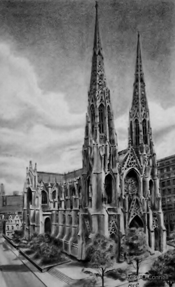 St Patrick's Cathedral NYC - 460 Madison Avenue.  by Mike O'Connell