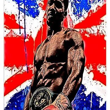 FAN ART - Anthony Joshua Boxing by RighteousOnix