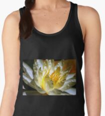 White waterlily (Nymphaea odorata rosea) Women's Tank Top