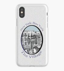 NYC-Name this lower Manhattan intersection? iPhone Case/Skin