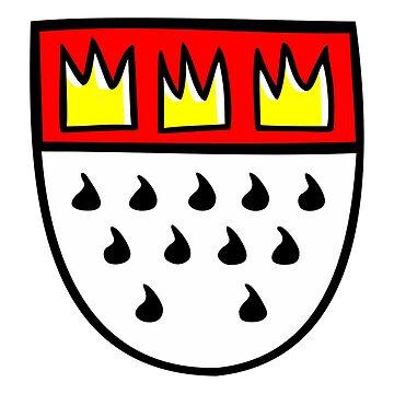 Kölner Wappen - Stadtwappen von Köln by theshirtshops