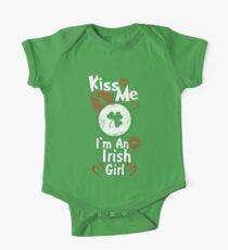 Kiss Me - I'm An Irish Girl One Piece - Short Sleeve