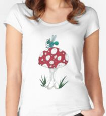 Insect Etiquette Women's Fitted Scoop T-Shirt