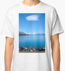 View on Mount Cook,  New Zealand Classic T-Shirt