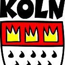 Ein Wappen von Köln von theshirtshops