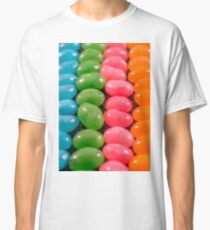 Beans in a line  Classic T-Shirt