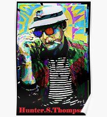 Hunter.S. Thompson.  Poster