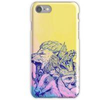 Hogwarts COLOUR  iPhone Case/Skin