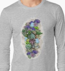South Africa  Succulents Long Sleeve T-Shirt
