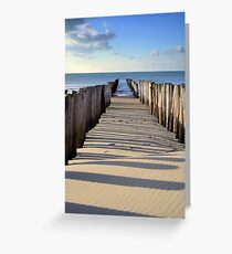 Breakwater Renesse Greeting Card