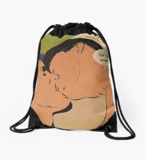 Don't Tell Anyone Drawstring Bag