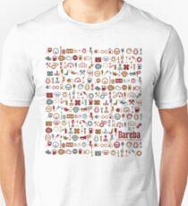 "Car symbol, design for petrolheads ""white"" Unisex T-Shirt"