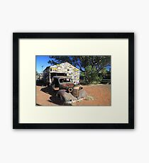 Time for a service Framed Print