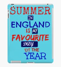British Summer Time ... iPad Case/Skin
