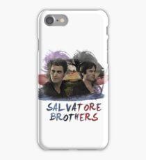 Salvatore Brothers - The Vampire Diaries iPhone Case/Skin