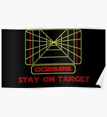 Stay on Target- Version 2 Poster