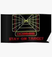 Bleib bei Target- Version 2 Poster