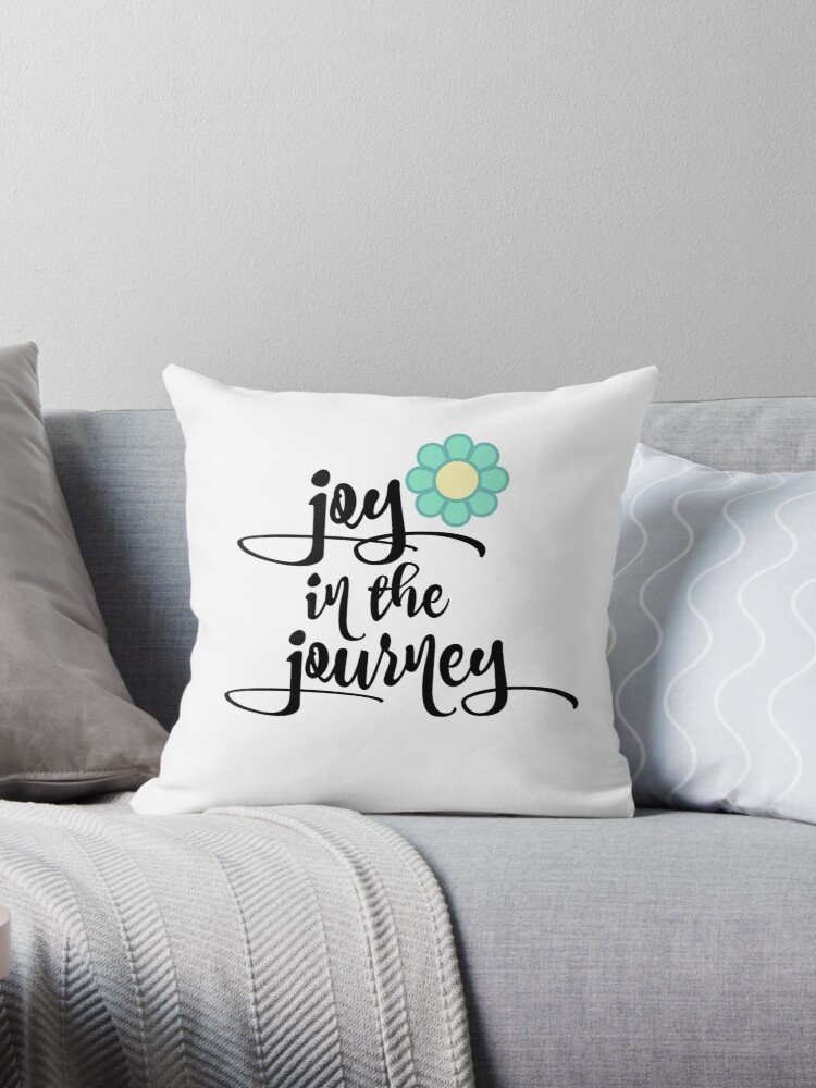 Quote Typography; Joy in the Journey by motivateme