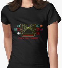 Stay on Target Women's Fitted T-Shirt