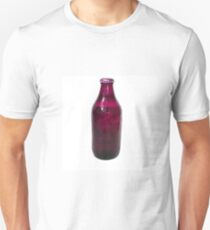 Isolated Mauve Beer Bottle T-Shirt