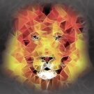 abstract lion 2 by Ancello