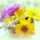 Daisy Floral Table Bouquet by kkphoto1