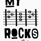 My -D-A-D- Rocks! By lilterra.com by Lilterra