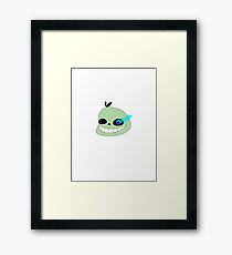 Pear Sans from Undertale Framed Print