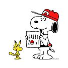 Pokemon 20th featuring Snoopy and Woodstock by Saranet