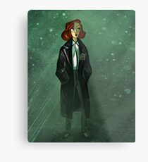 Scully Metal Print