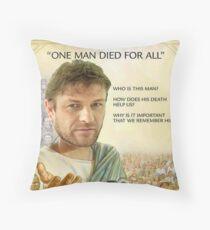 Sean Bean Is Literally Jesus Throw Pillow