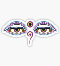 Buddha eyes 1 Sticker