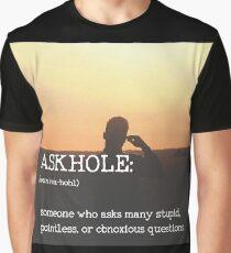 ASKHOLE_Urbandictionary  Graphic T-Shirt