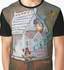 Leprechaun reader Graphic T-Shirt