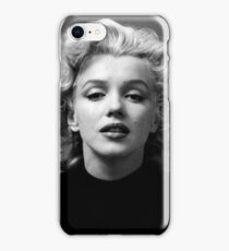 Vintage: Marilyn Monroe (Black&White) iPhone Case/Skin