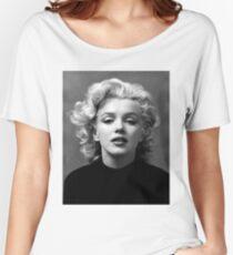 Vintage: Marilyn Monroe (Black&White) Women's Relaxed Fit T-Shirt