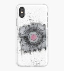 Portal Inspired art iPhone Case